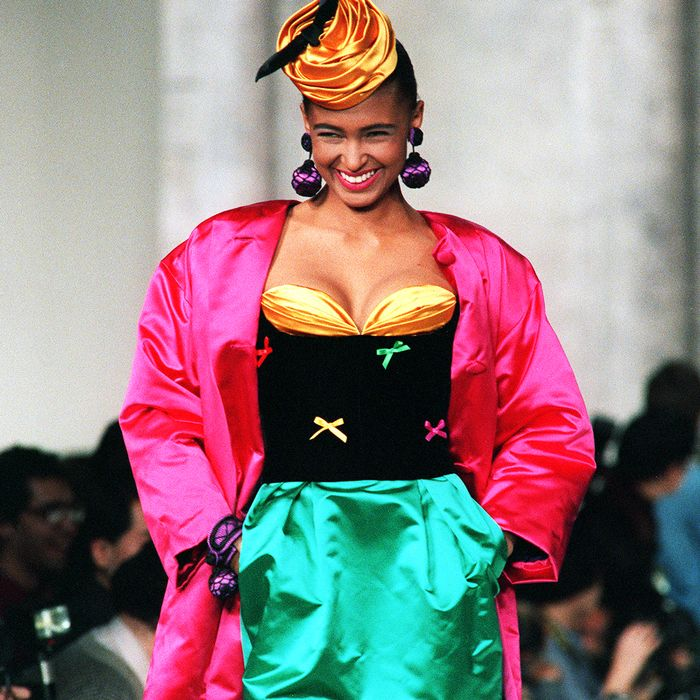 Okay, Wow: This Is What Fashion Week Looked Like in the 1980s