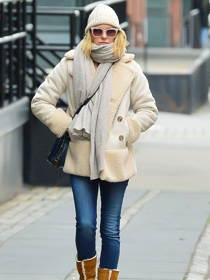 Wearing Ugg Boots