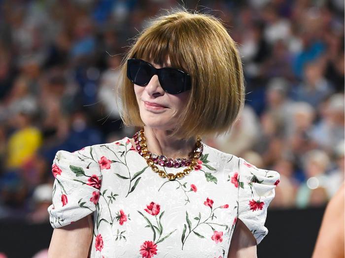 Anna Wintour at the Australian Open