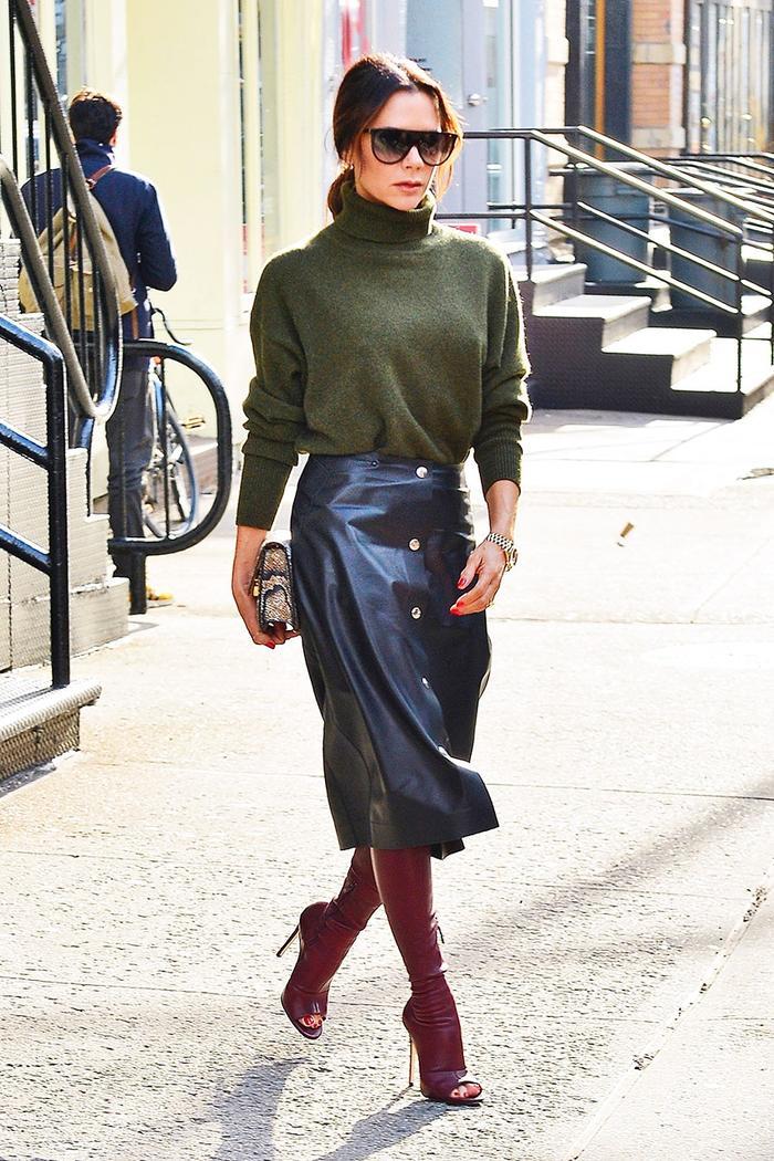 Easy Celebrity Outfit Formulas: Victoria Beckham