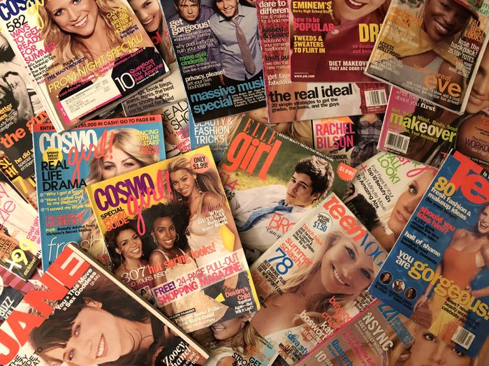 Teen Magazines from the 2000s