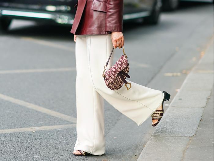 Most Popular Designer Handbags - Dior Saddle Bag