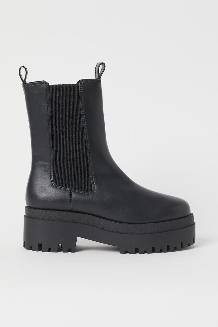 H&M Platform Chelsea-Style Boots