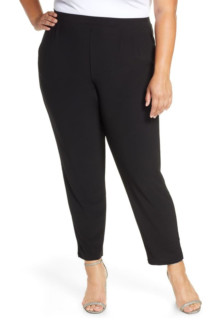 Leith High Rise Pleated Pants