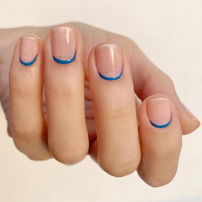 Negative space manicure ideas