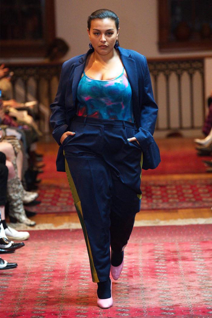 Maryam Nassir Zadeh fall 2019 runway