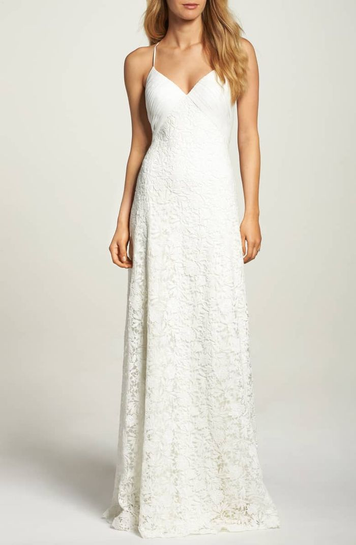 9 Casual Wedding Dresses for the Low-Key Bride  Who What Wear