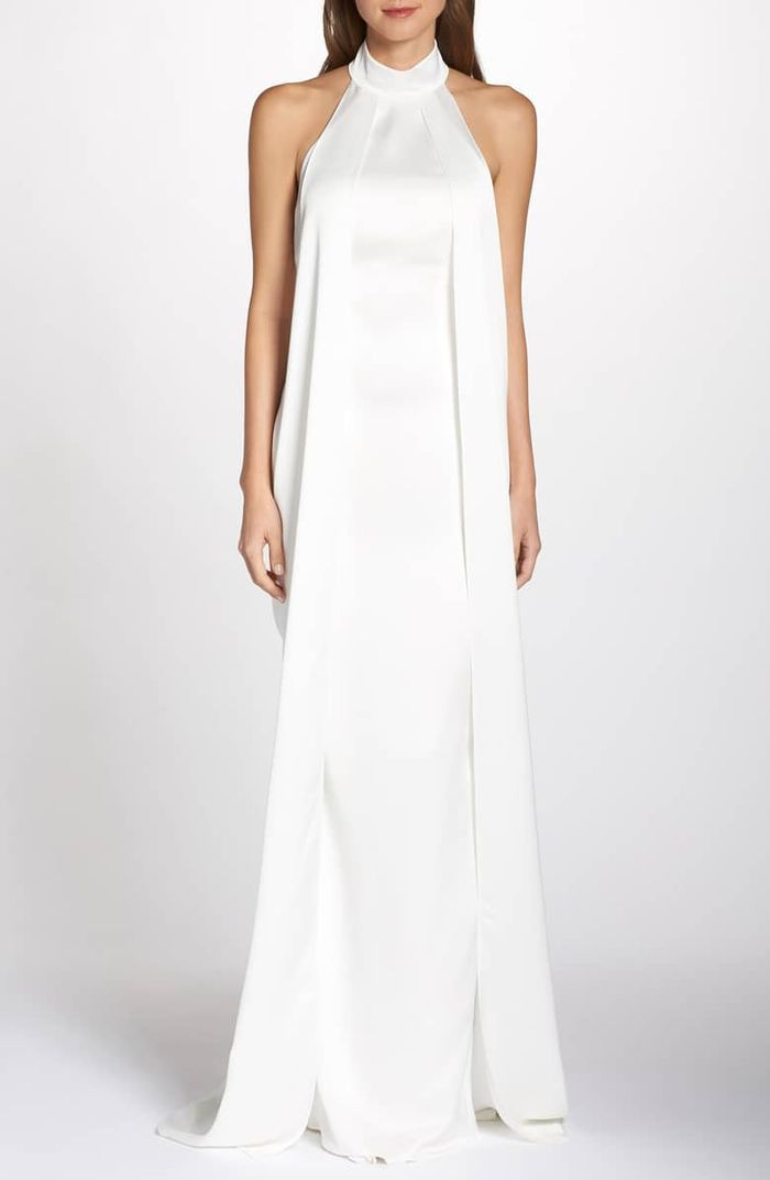 20 Casual Wedding Dresses For The Low Key Bride Who What Wear
