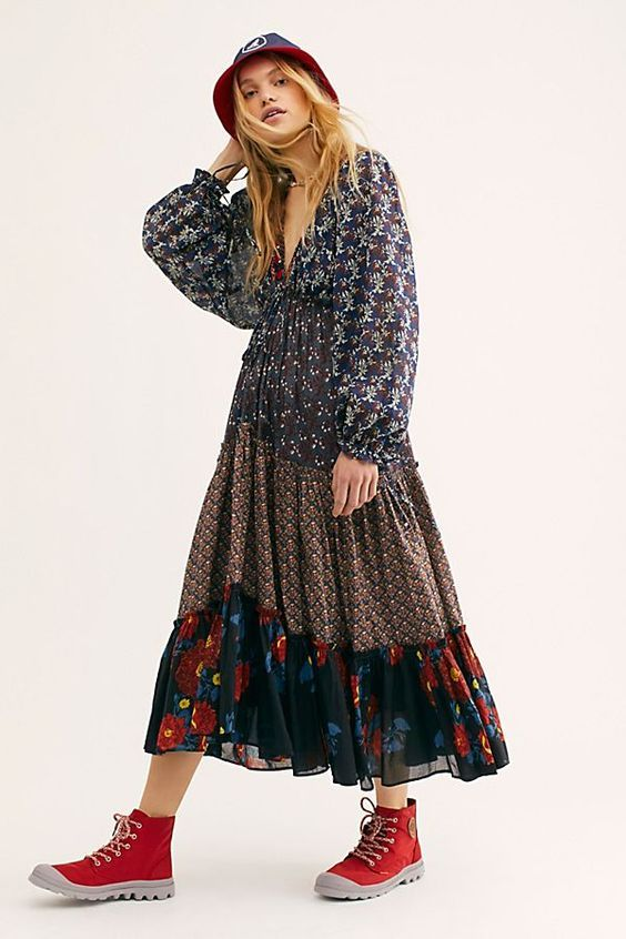 The 12 Best Boho Maternity Dresses Who What Wear