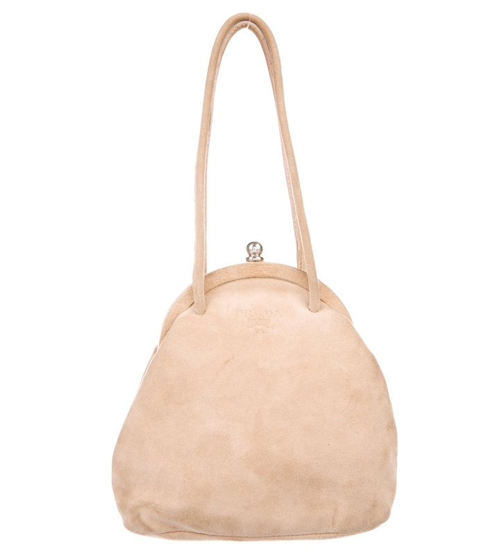 Prada Suede Frame Bag