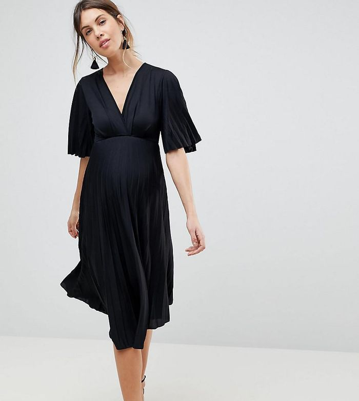 16 Maternity Dresses To Wear For Photos Who What Wear