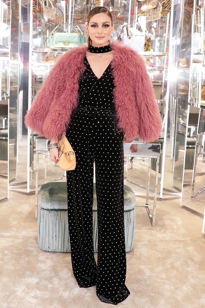 fendi baguette bag - new york fashion week 2019 - olivia palermo