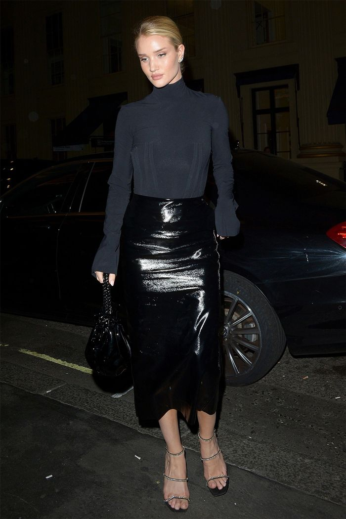 Celebrity date-night outfits: Rosie Huntington-Whiteley