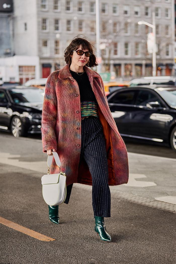 New York fashion week shoe trends: green