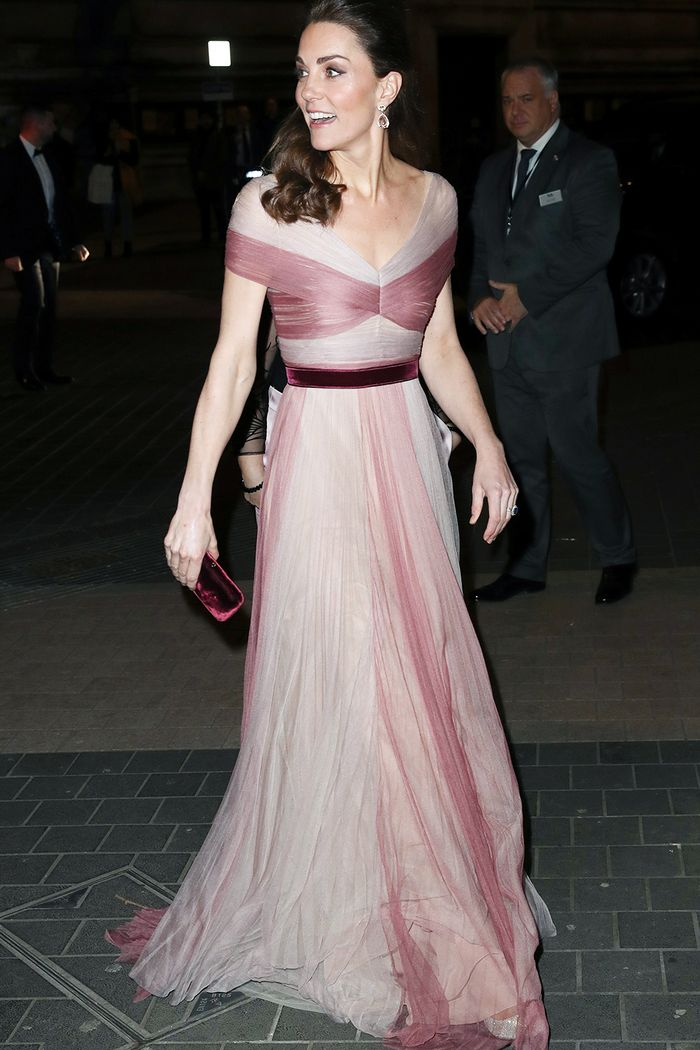 Kate Middleton evening gowns: Gucci dress