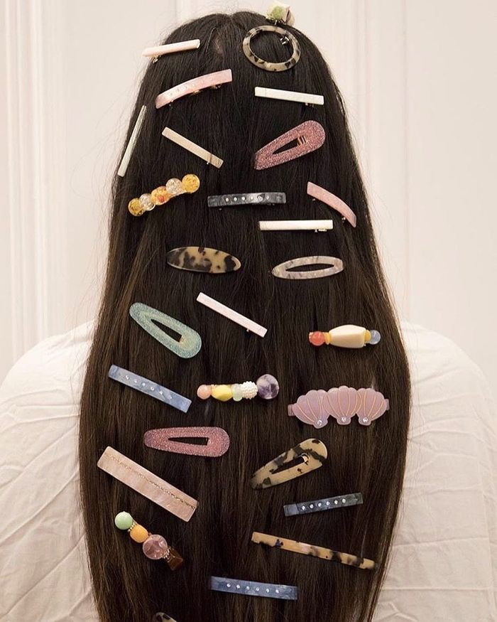 Hair Accessories Inspiration: Valet Studio Clips and Slides