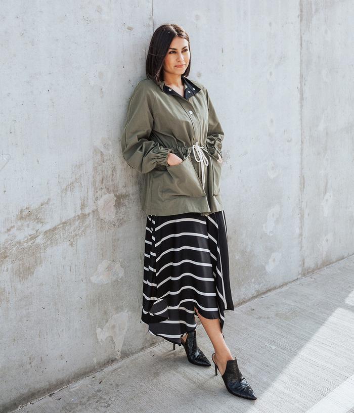 Who What Wear Seamed Slip Skirt Target