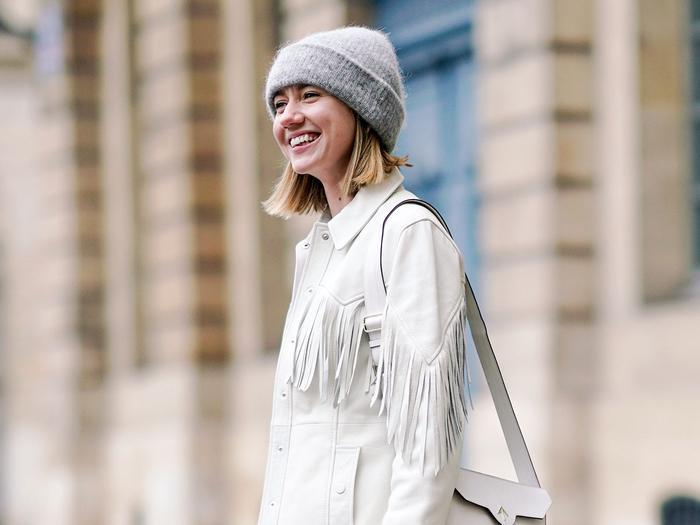 Lisa Aiken Ganni Jacket Street Style