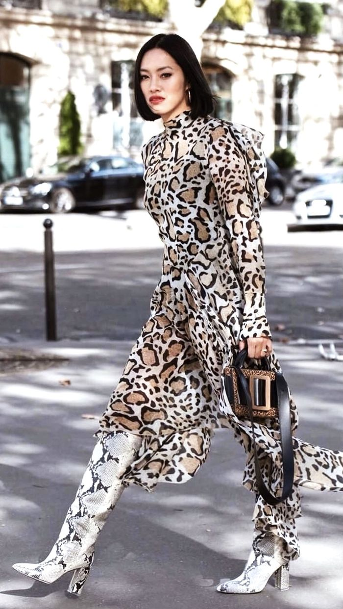 Yolo Outfits: Tiffany Hsu in Animal Prints