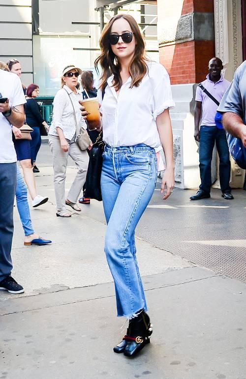 Make Dakota Johnson S Capsule Wardrobe Your Own Who What Wear Uk