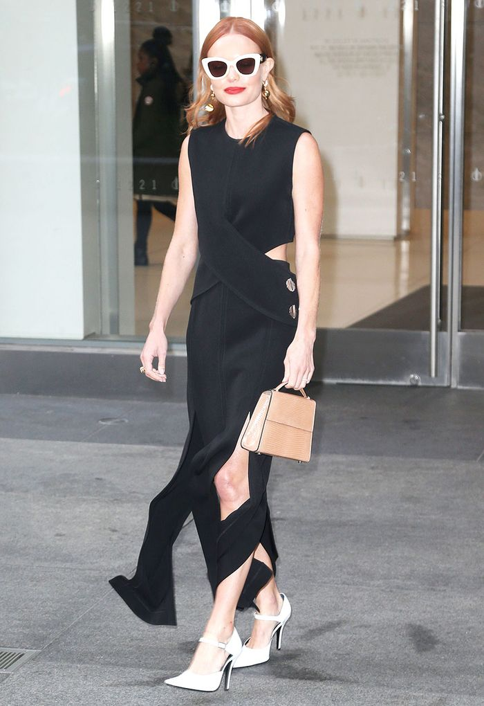 Kate Bosworth in a little black dress