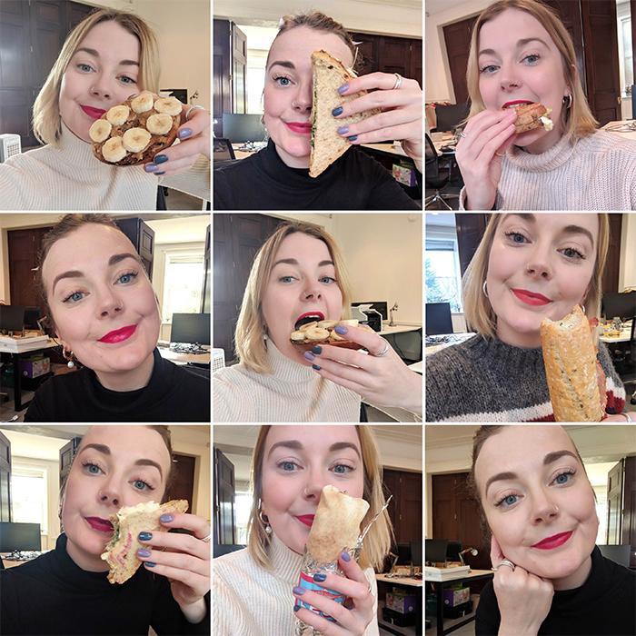 best red lipsticks: Alyss Bowen