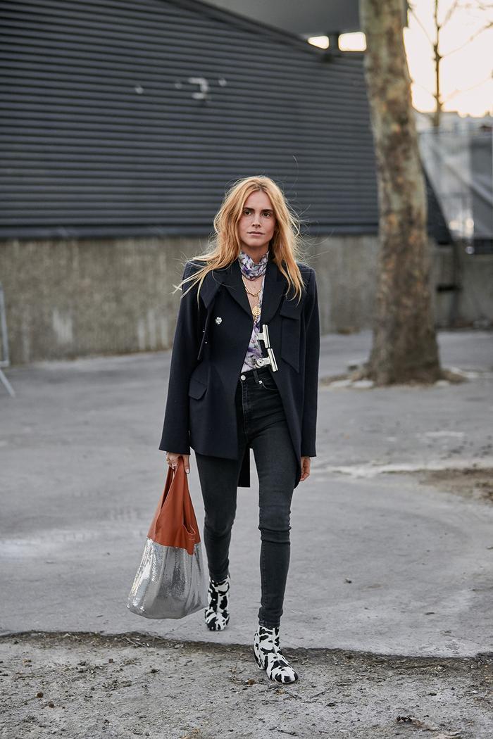 Paris Fashion Week street style February 2019