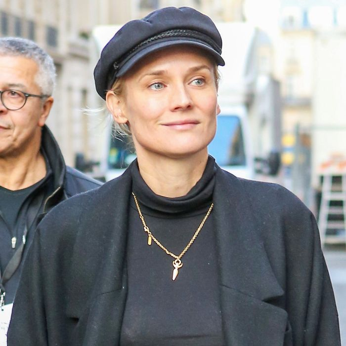 Diane Kruger Knows the Chicest Way to Wear Mango in Paris