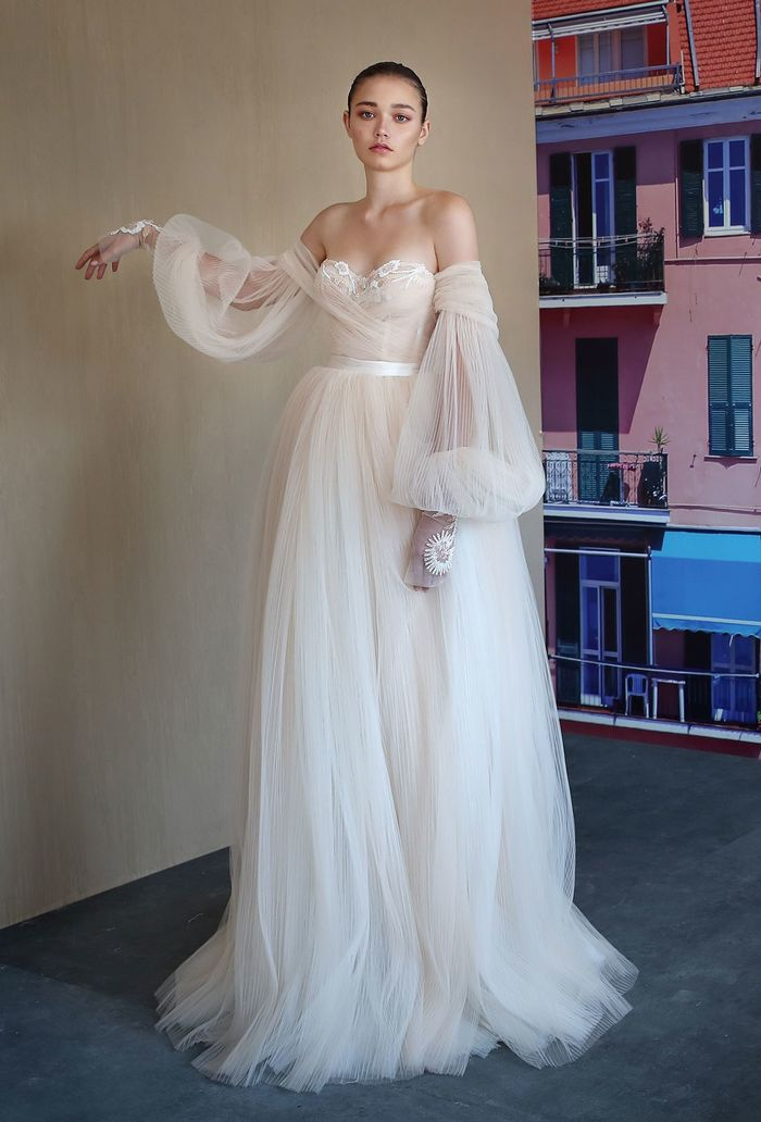 Statement Sleeves Are a Huge Bridal Trend for 2019