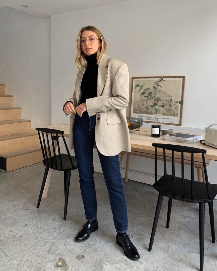 The Best COS Items 2019: Brittany Bathgate in COS Oxford Shoes