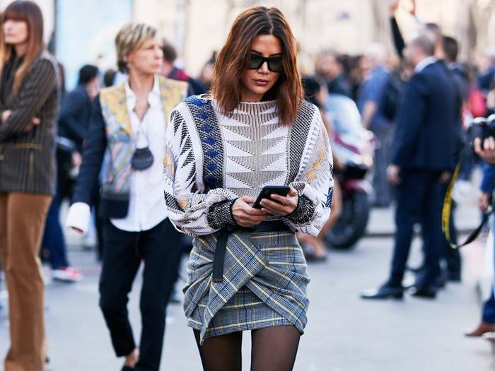 Christine Sentenera Paris Street Style