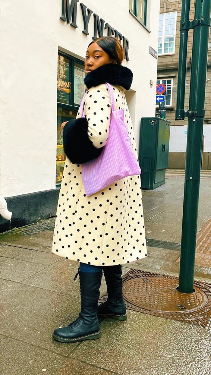 How To Wear Old Clothes: Saks Potts Statement Coat