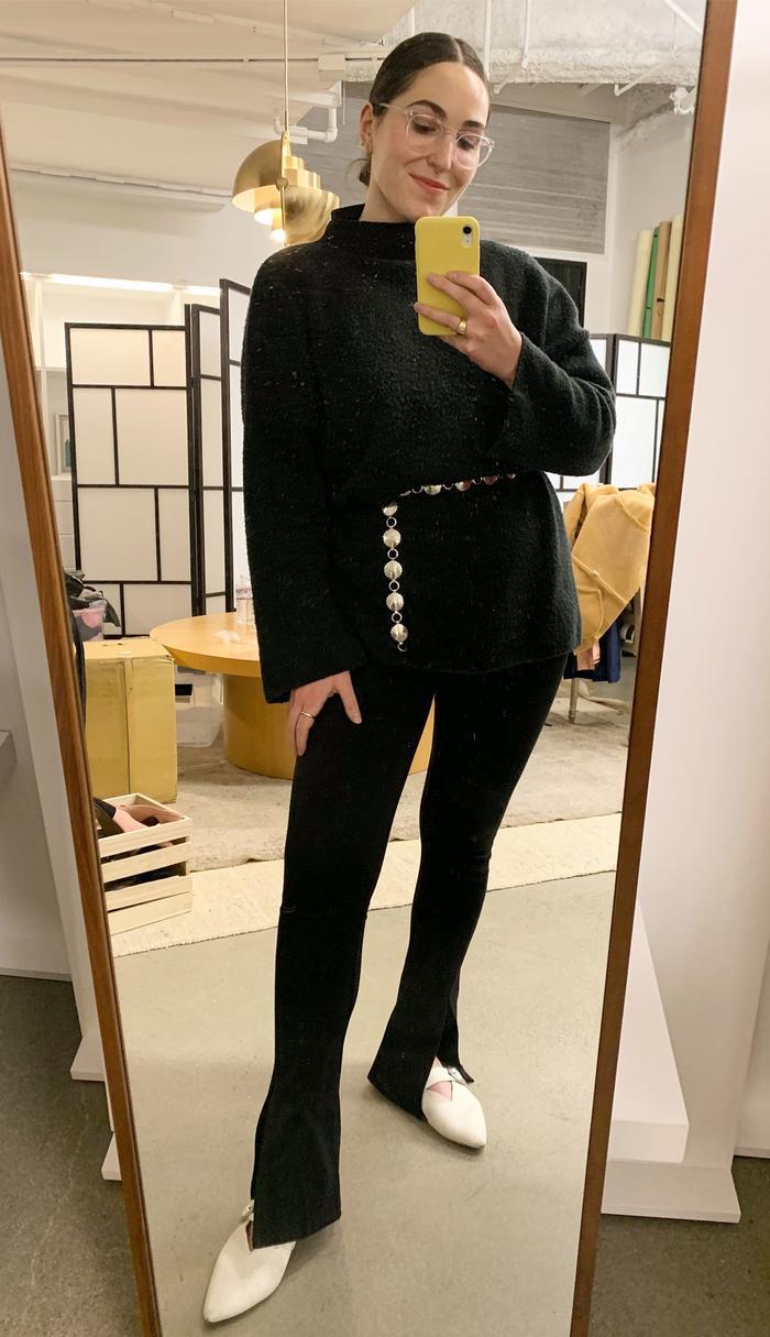 Zara leggings outfit