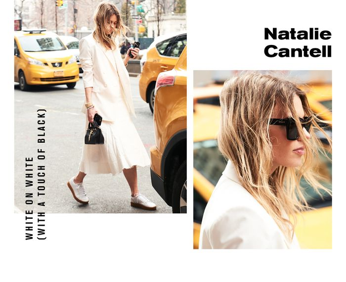 Natalie Cantell DKNY Who What Wear New York best outfits street style