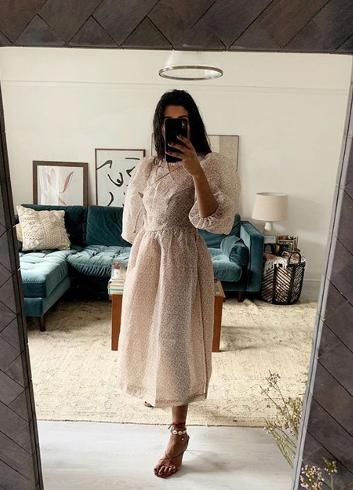 Influencer wedding guest outfits: Monikh