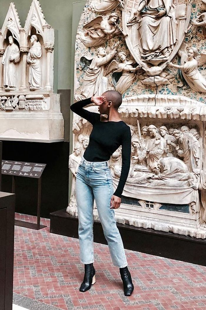 Best high street denim buys: Marisa Martins in Topshop jeans