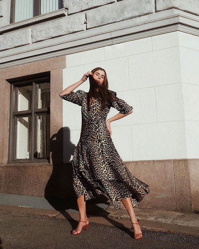 Spring Dress Trend: Animal Print