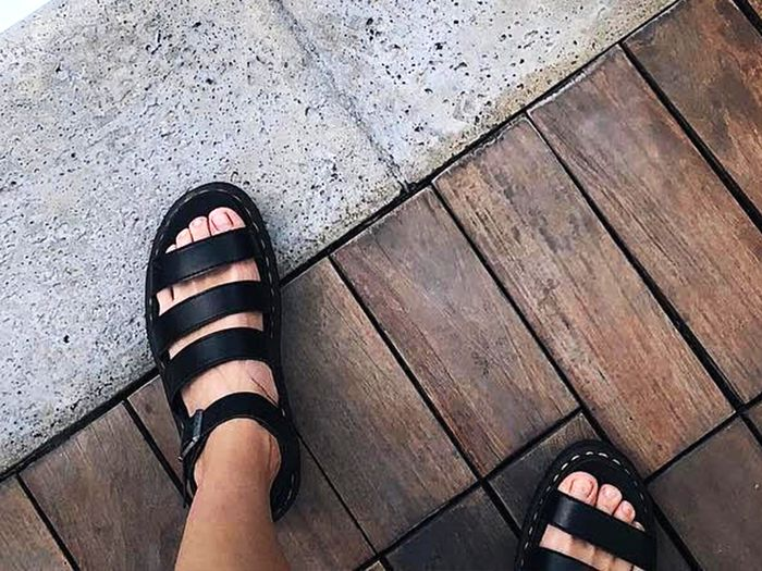 Dr. Martens Sandals Are Rising in