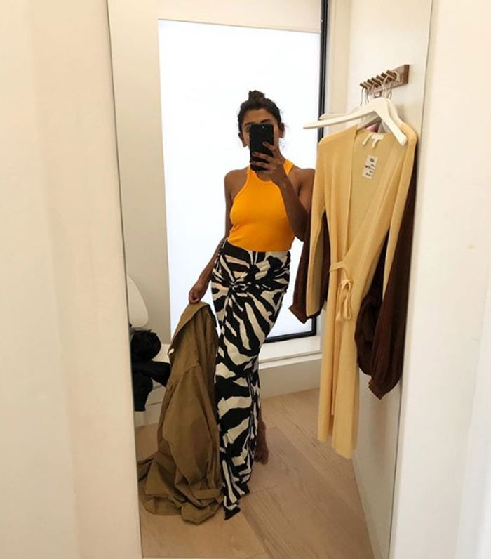 H&M studio collection sprint summer 2019: Zebra skirt