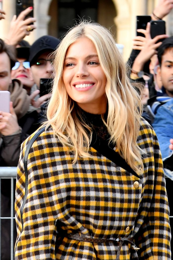 Sienna Miller Hair: Sienna Miller is the sole reason why I wear my hair in a centre-parting