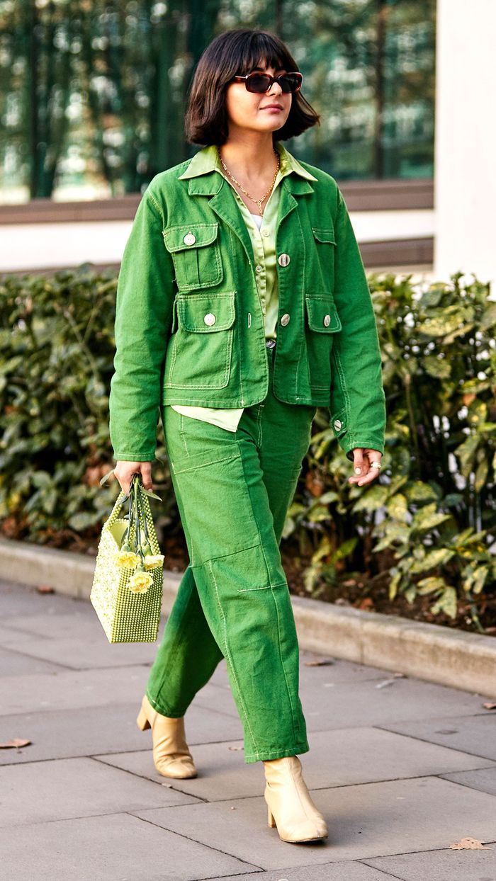 Colourful Spring Outfit Ideas: Green Aesthetic