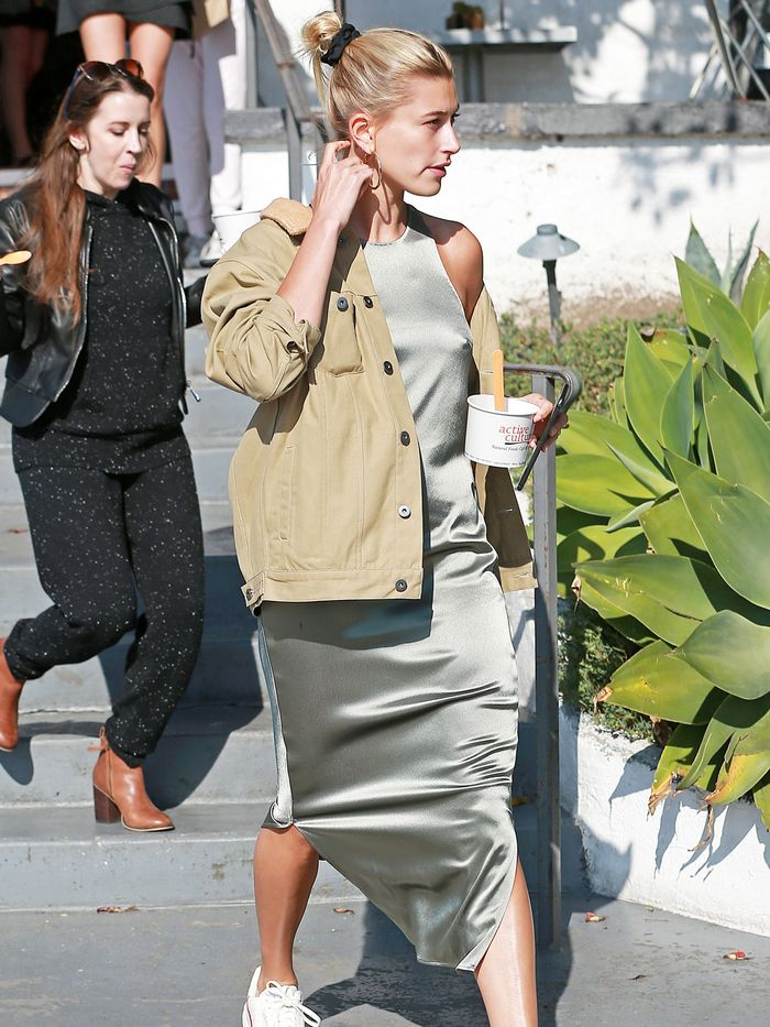 Hailey Bieber's Sneakers Have the Best