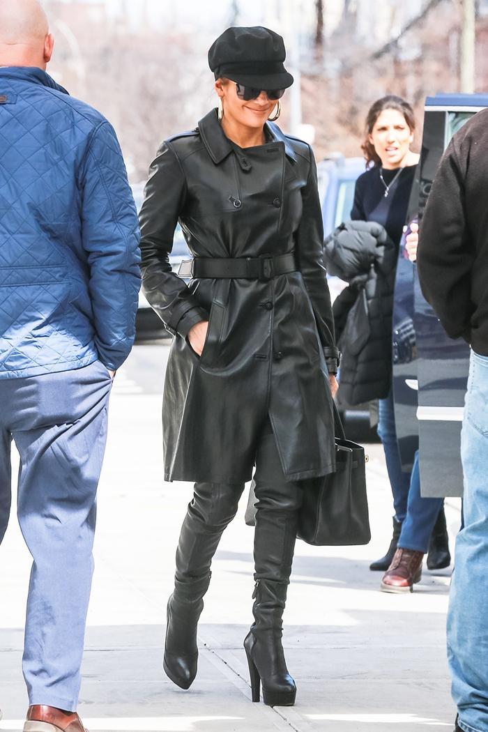 Jennifer Lopez high boots