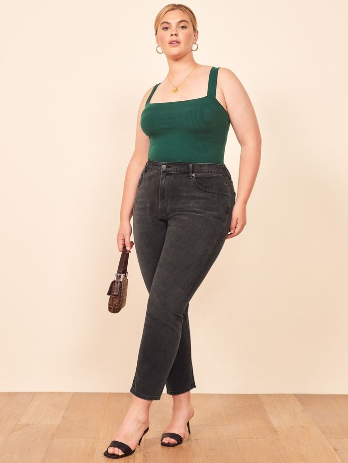 high rise jeans for women over 50