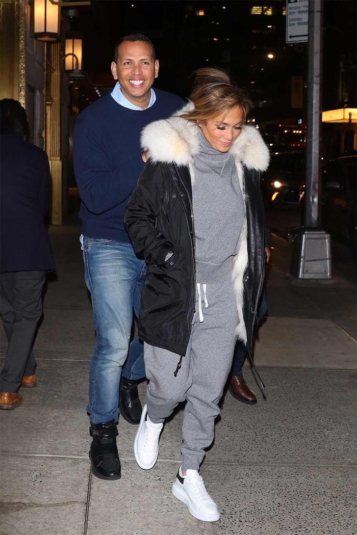 Jennifer Lopez Sweatpants