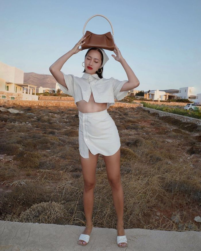 Spring shopping fashion trends: bare midriff tops
