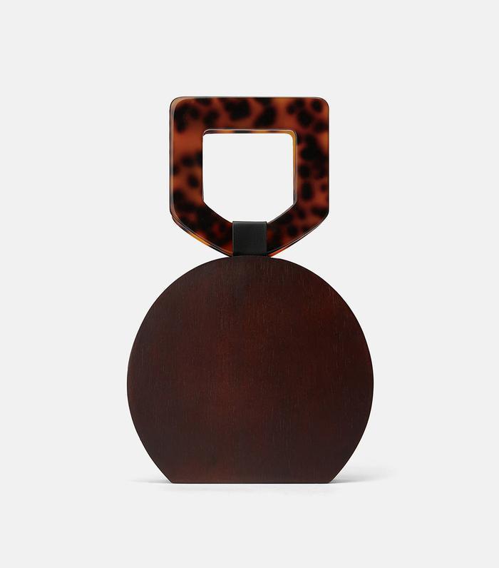 Zara Wooden Handbag