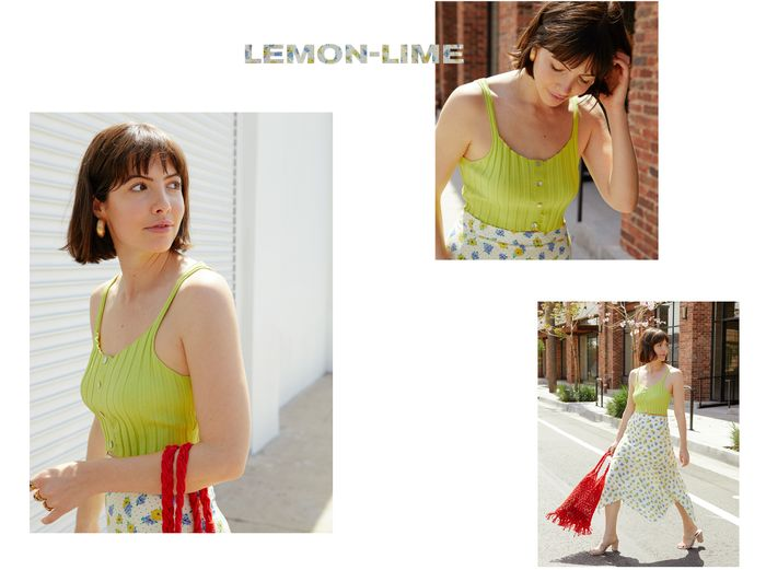 neon floral trend for spring best color combo