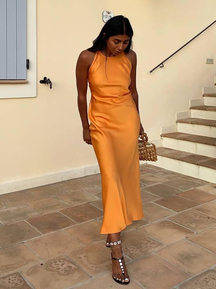 It Dresses 2019: Monikh in Rosetta Getty dress