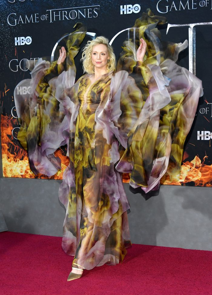 Gwendoline Christie at the Season 8 Premiere of Game of Thrones in NYC